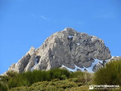 Montaña Leonesa Babia;Viaje senderismo puente; visitar lagunas de ruidera club escalada ropa termic